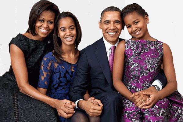 Những thành viên trong gia đình tổng thống luôn nắm chặt tay nhau. Ảnh: Wiki.