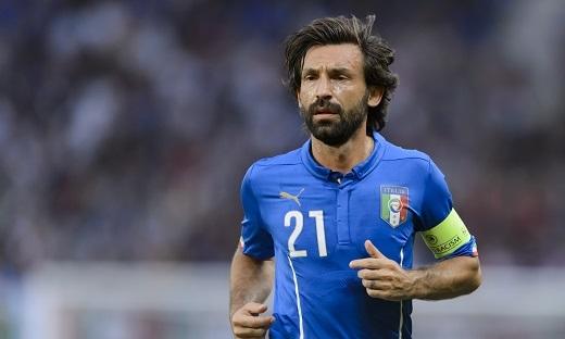 Andrea Pirlo không có tên trong danh sách đội tuyển Italia chuẩn bị cho EURO 2016