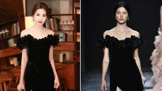 """Khi các """"biểu tượng sắc đẹp"""" Việt thi nhau diện váy nhái"""