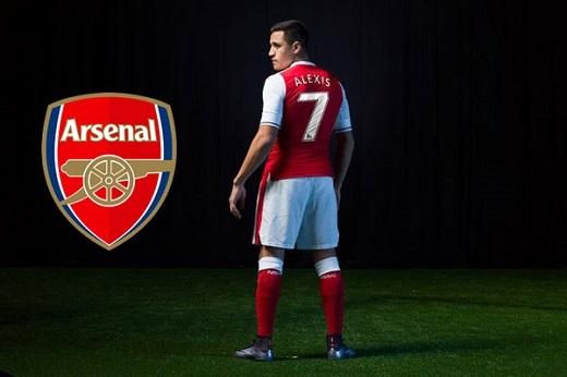 Với số áo mới, Alexis Sanchez sẽ là nòng cốt của Arsenal mùa giải năm sau