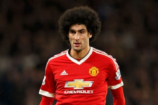 4. Marouane Fellaini.