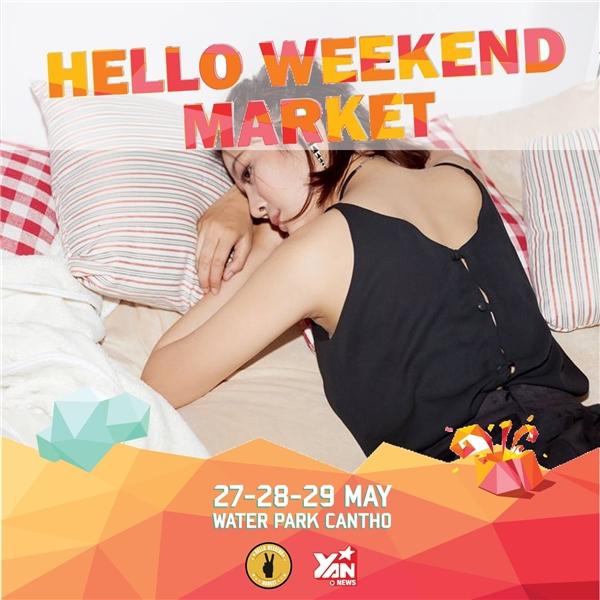 Cuối tuần xả stress cùng Hello Weekend Market tại Cần Thơ