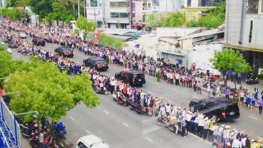 Dân Sài Gòn chào đón ông Obama qua góc nhìn của nhiếp ảnh Nhà Trắng