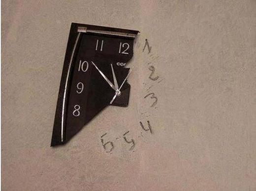 Đồng hồ chỉ cần kim với số thôi mà.