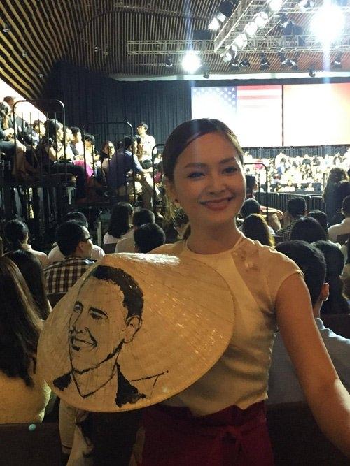 Đặng Thu Thảo và nhiều sao Việt háo hức khi diện kiến Tổng thống Obama - Tin sao Viet - Tin tuc sao Viet - Scandal sao Viet - Tin tuc cua Sao - Tin cua Sao