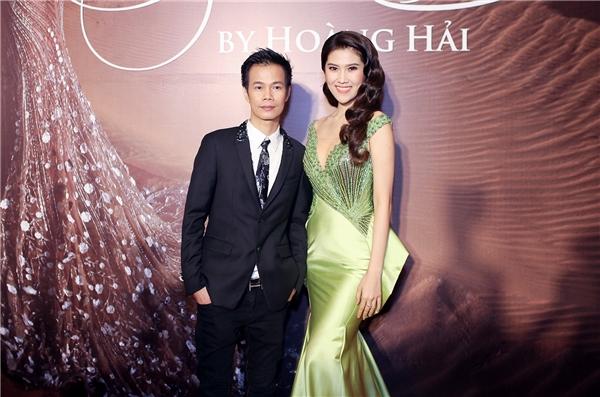 Thu Hằng là một trong những sao Việt tham dự đêm diễn của nhà thiết kế Hoàng Hải. - Tin sao Viet - Tin tuc sao Viet - Scandal sao Viet - Tin tuc cua Sao - Tin cua Sao