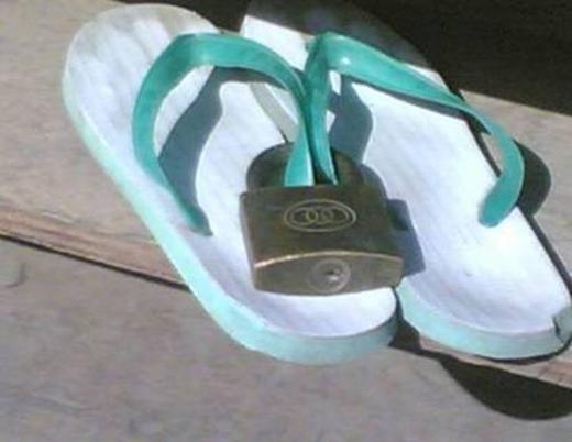 Những người luôn tin rằng nhìn thấy khóa là trộm sẽ nản chí và bỏ cuộc