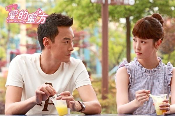 Trong dự phim hợp tác Hoa - Hàn Love Actually, Trịnh Nguyên Sướng từng hợp tác với ngôi sao nổi tiếng Lee DaHee.