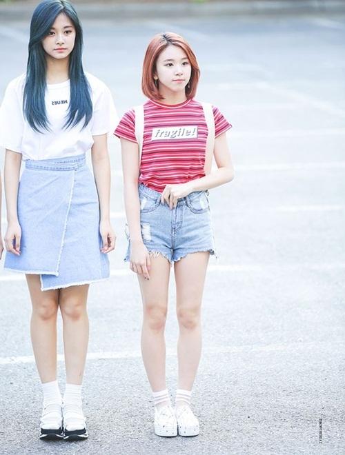 """Thích thú cặp đôi """"cao kều – hạt tiêu"""" của các nhóm nhạc Kpop"""