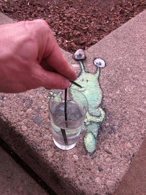 Ôi, nước gì mà ngon quá, mát quá.