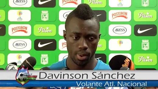Davinson Sanchez là một trung vệ trẻ vô cùng triển vọng của Colombia