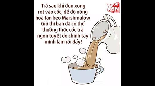 Tự chế trà sữa an toàn ngay tại nhà siêu ngon
