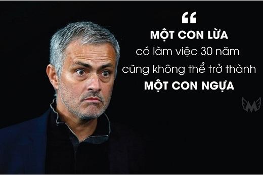 Mourinho đã viết trong mục bình luận của ông trên một tờ báo hồi 2/2005, khi đánh giá về Jesualdo Ferreira - HLV 68 tuổi người Bồ Đào Nha từng dẫn dắt Porto sau Mourinho.