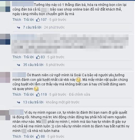 Sửng sốt hình ảnh nam sinh ngang nhiên đánh bạn gái trong lớp học