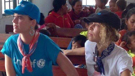 Tiết lộ thêm những hình ảnh của Katy Perry tại Ninh Thuận