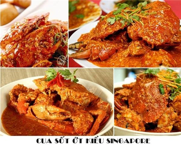 """Nếu muốn ăn món ăn """"sang chảng"""" hơn thì bạn có thể gọi món cua sốt ớt kiểu Singapore.(Ảnh: Internet)"""