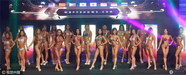 Cuộc thi World Beauty Fitness & Fashion Asia 2016 thu hút rất đông thí sinh từ khắp nơi trên thế giới tới tham dự.