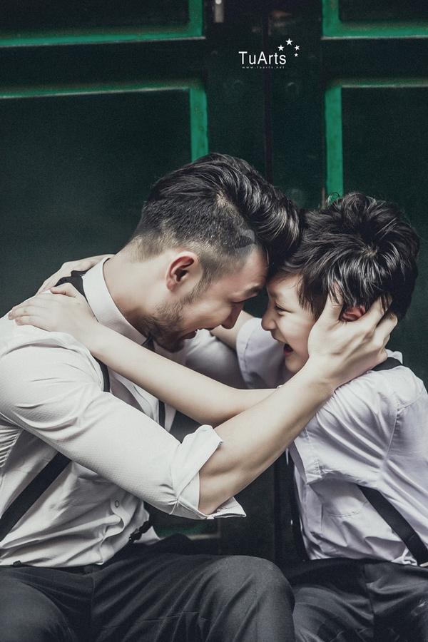 Bộ ảnh Bố ơi, mình đi đâu thế? khiến ai cũng muốn có 1 cậu con trai