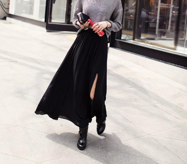 Chân váy xuyên thấu xẻ tà - trào lưu mới cho hè 2016.