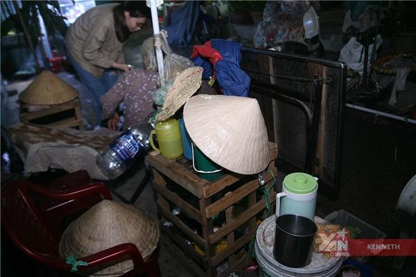 cụ già vô gia cư