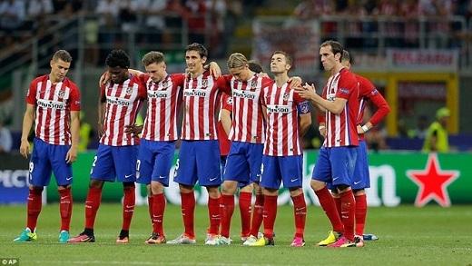 Atletico đã chiến đấu để nhận lại bi kịch.