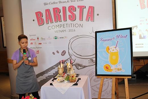 Khanh cũng xuất sắc giành được giải nhất trong cuộc thi Barista Việt Nam 2016.Giải nhì thuộc về thí sinh Lại Thị Ngọc Hà đến từ cửa hàng Metropolitan.
