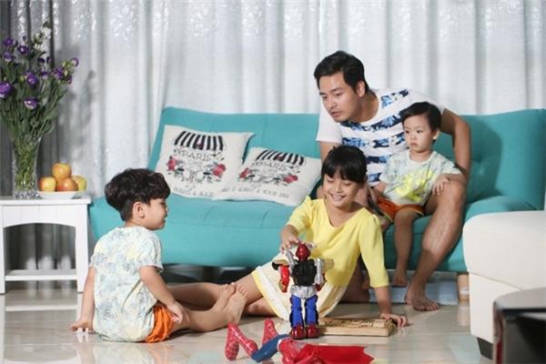 """""""Ông bố trong mơ""""là người khá tâm lí và rất mực yêu thương các con. - Tin sao Viet - Tin tuc sao Viet - Scandal sao Viet - Tin tuc cua Sao - Tin cua Sao"""