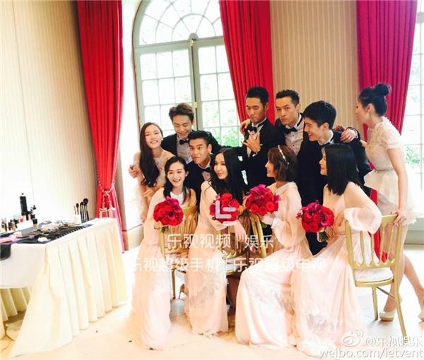 Phát sốt trước dàn dâu - rể phụ trong đám cưới bạn trai cũ Hồ Ca