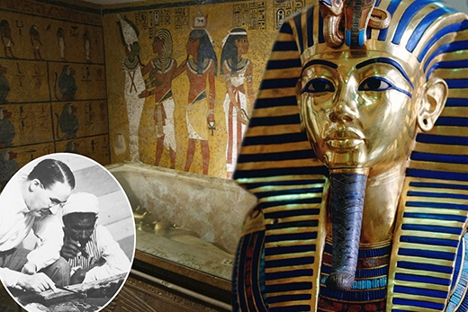 Lời nguyền khu mộ Pharaong. (Ảnh: Internet)