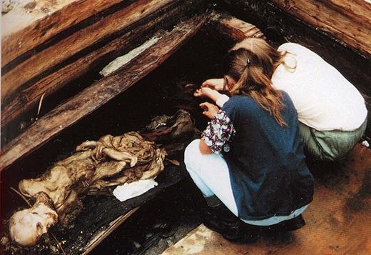 Nhiều người đã phản đối việc khai quật khu mộ. (Ảnh: Internet)