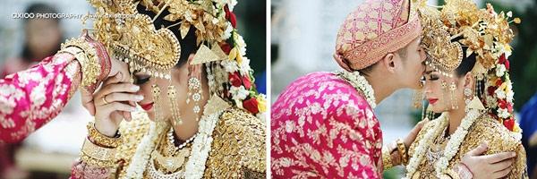 Đám cưới dát vàng của tài tử điển trai nhất Indonesia