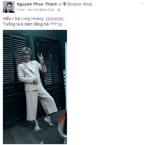 """OnlyC """"dìm hàng"""" Lou Hoàng trên mạng xã hội với khoảnh khắc nhí nhảnh hậu trường. - Tin sao Viet - Tin tuc sao Viet - Scandal sao Viet - Tin tuc cua Sao - Tin cua Sao"""