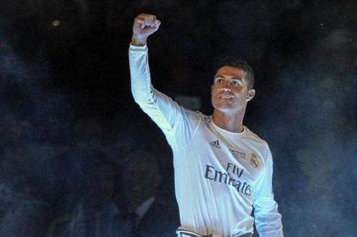 Như thường lệ Ronaldo vẫn là tâm điểm của mọi sự chú ý