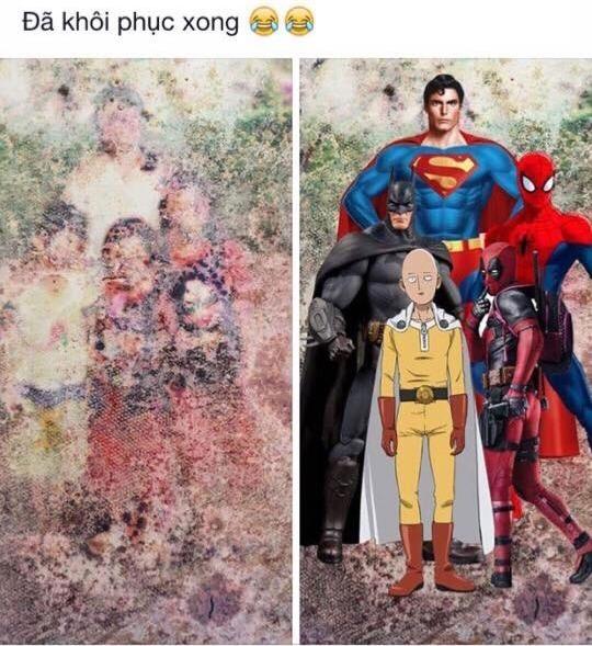 Và người ta đã tìm được nguồn gốc của các nhân vật siêu nhân. Họ là anh em một nhà?(Ảnh: Internet)