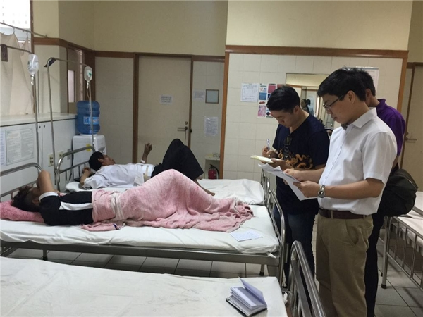 Các nạn nhân được cấp cứu tại bệnh viện. Ảnh: TNO