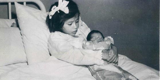 Người mẹ trẻ nhất thế giới, Lina Medina, 5 tuổi. (Ảnh: Internet)