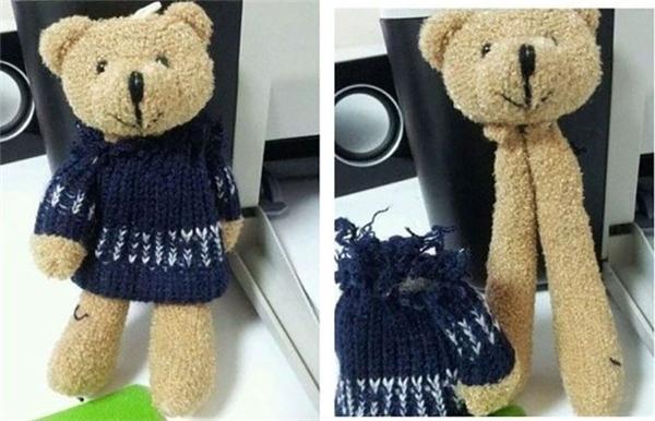 Đúng là... gấu đẹp vì lụa.