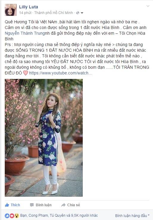 Én Đồng Thành Trung gây bão với ca khúc viết về Việt Nam