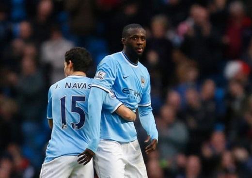 Man City vào tới bán kết nhưng Toure và Navas đáng bị chê trách