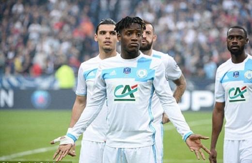 Michy Batshuayi vừa có mùa giải tuyệt vời cùng Marseille