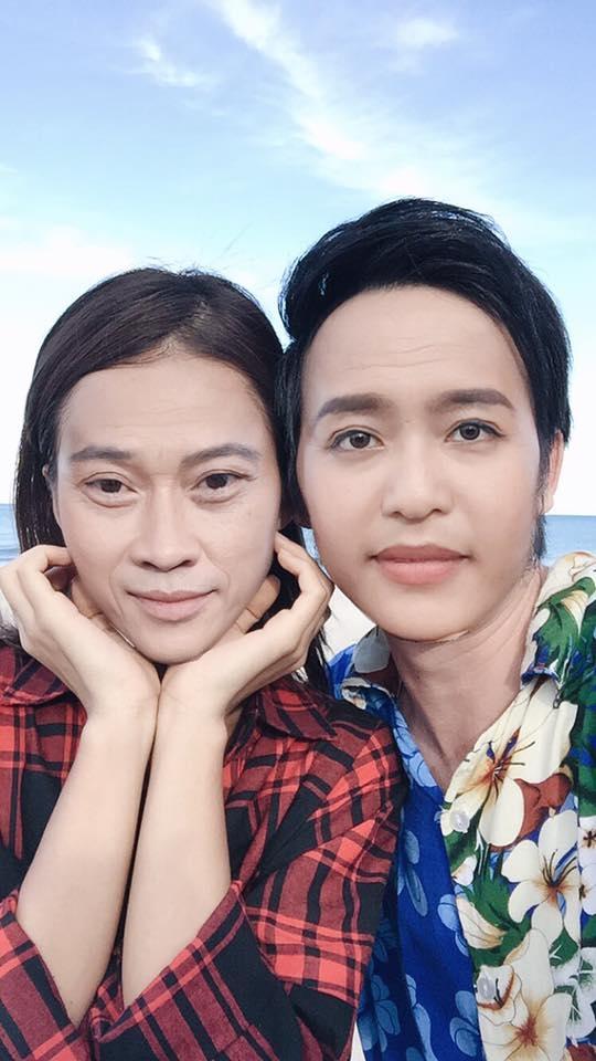 Fan thích thú trước hình ảnh Hoài Linh và Khả Ngân hoán đổi gương mặt cho nhau. - Tin sao Viet - Tin tuc sao Viet - Scandal sao Viet - Tin tuc cua Sao - Tin cua Sao