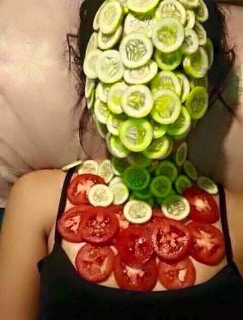 Ai trộm dĩa rau xà lách cho bữa tối nay rồi?(Ảnh: Internet)