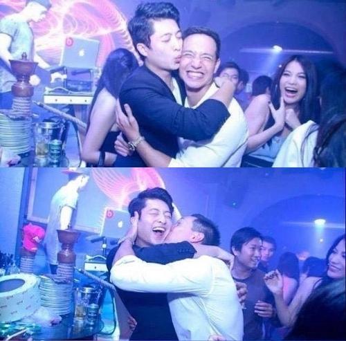 Kim Lý và Harry Lu hôn nhau trước sự ngỡ ngàng của Trương Ngọc Ánh. - Tin sao Viet - Tin tuc sao Viet - Scandal sao Viet - Tin tuc cua Sao - Tin cua Sao