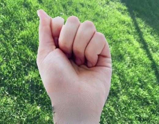 Với cách nắm tay thếnày, bạn là người giỏi phân tích, có khả năng lập kế hoạch tốt.