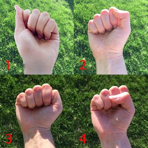 Cách nắm taythể hiện khả năng vàtính cách của bạn.