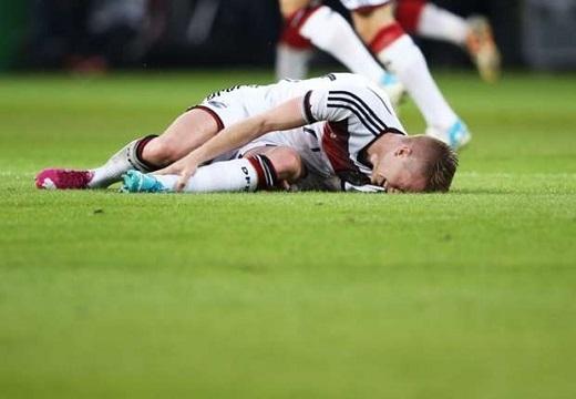 Ca chấn thương từng khiến Marco Reus chia tay ngay trước thềm World Cup 2014.