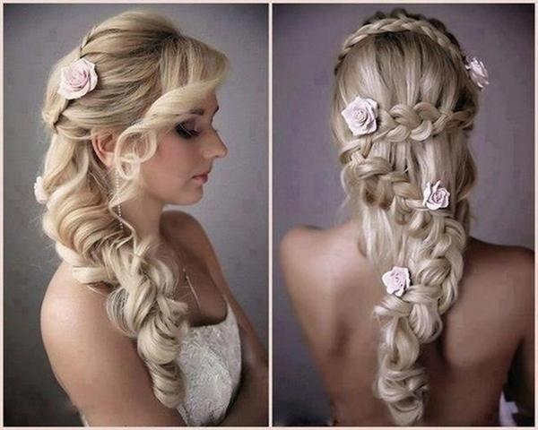 Mềm mại với kiểu tóc được tết uốn lượn tỉ mỉ như thế này. (Ảnh: Internet)