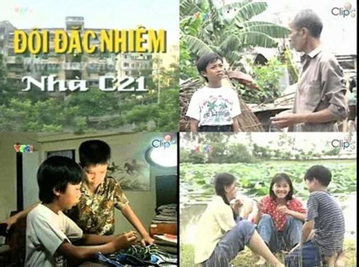 """Cũng có không ít bộ phim Việt Nam được nhiều bạn nhỏ yêu thích và """"đi vào lòng công chúng"""" cho tới tận ngày hôm nay. Đội đặc nhiệm nhà C21chính là một trong những bộ phim như vậy. Liệu bạn còn nhớ?(Ảnh: Internet)"""
