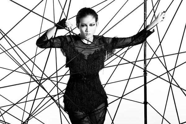 Bức ảnh giúp Kim Nhã có được chiếc vé đầu tiên vào nhà chung Vietnam's Next Top Model 2016.