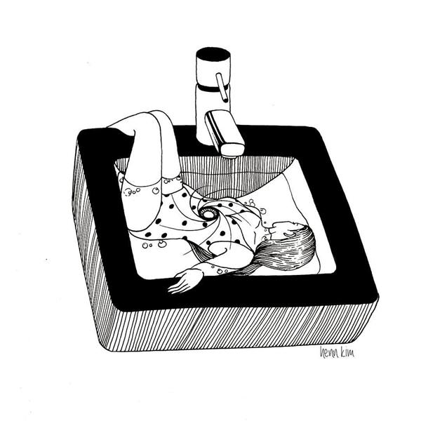 Phụ nữ khi yêu quá nhiều thườngbiến mình thành một cái bồn nước mặc cho đàn ông muốn xả thì xả, muốn rửa thì rửa. Đôi lúc họ chỉ coi ta như một cái bồn, để họ trút bỏ hết mọi muộn phiền vào đó rồi xả nước rửa trôi hết tất cả. Là phụ nữ, đừng bao giờ để cho giá trị của mình chỉ dừng lại ở việc làm một cái bồn nước.(Ảnh: Internet)
